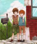 Oliver and John by Niji-iro