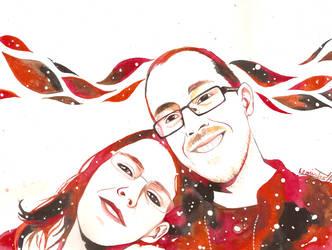 Svenja and Patrick by Niji-iro