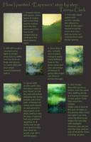 Oil over acrylic tutorial by TeresaClark