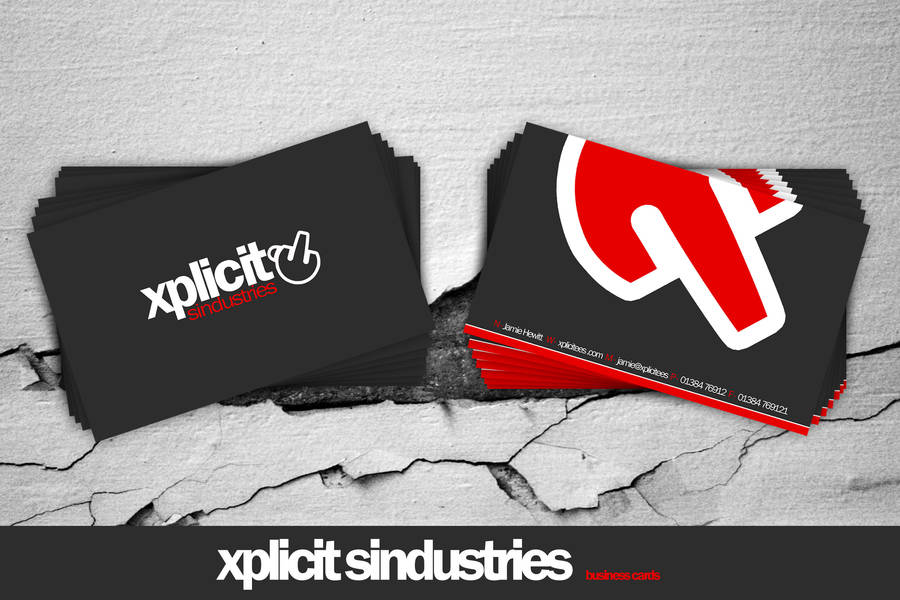 .:xplicit business cards:. by 7UR