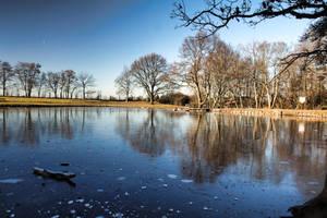 Winter Water by NikaTuwaPhotography
