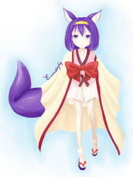 Izuna Hatsuse by EvanDonkey
