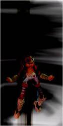 Pointsettia Goes Dark Knight by BlastionYadnus