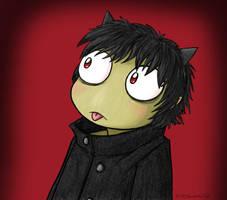 Argon at 18 by kittydemonchild
