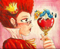 The Queen of Hearts by kcday