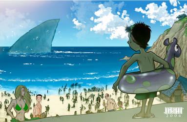 No-boat Bay by beastboyjoe