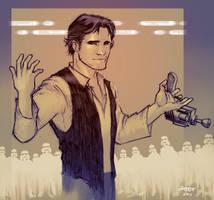 Han Solo by beastboyjoe