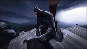 Heavy Batman Guy by DizNot