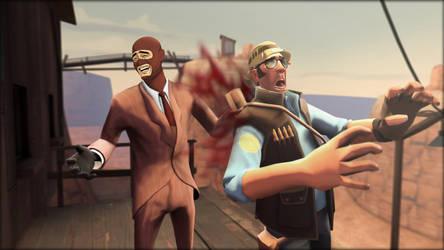 Spy don't gives a shit by DizNot