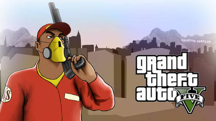 Grand Theft Auto V by DizNot