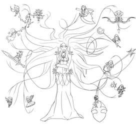 Medusa by Kagatari