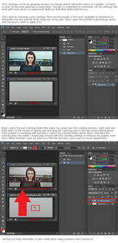 Tutorial - How To Apply PSD Colorings In Photoshop by JJ-247