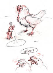 Giant Chicken by Tempted-Fate