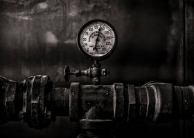 Toronto Distillery District Machinery No 1 by thelearningcurve-da