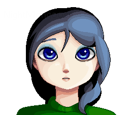 Pixel girl by NightMongoose