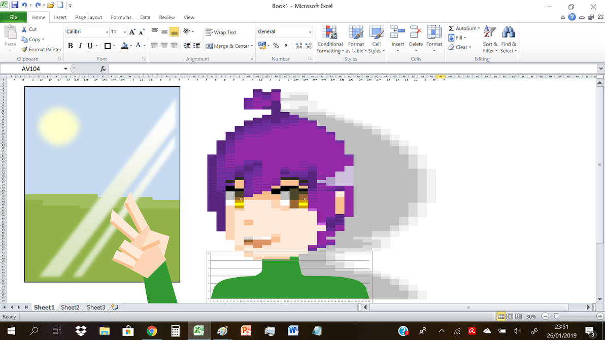 Alice in Excel by NightMongoose
