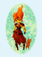 Flame princess by DariaMontanari