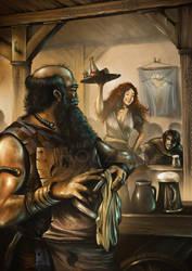 The Innkeeper's Wife by Khorghil