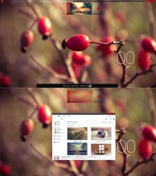 De-red desktop by Cherie2