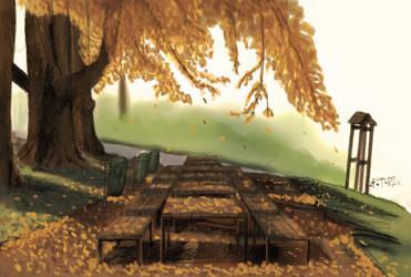 Fall by woxy