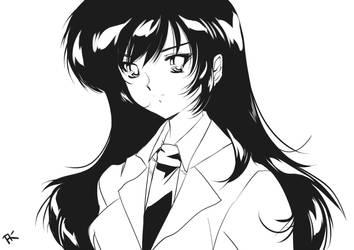 Michiko Akiyama - What still eyes behold by Mercury-Pentacle