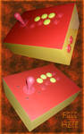 Meu primeiro arcade custom full Happ by viveranimes