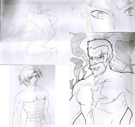 Sketches by viveranimes
