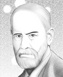 Sigmund Freud by viveranimes