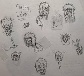 Yogscast- A page of Fluffy-hair Lalnas! by Zombie-Chickenz