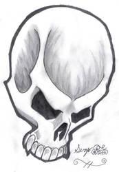 skull of death by sergio131313
