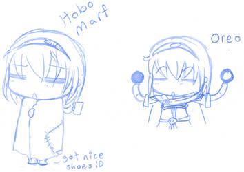 Marf Doodlez by ChocolateMochi