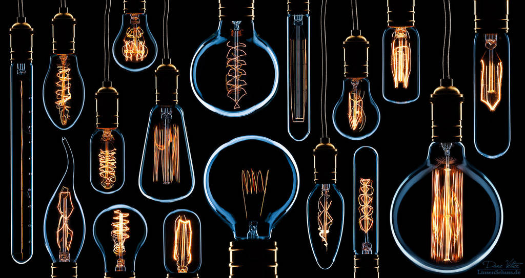 In memory of the light bulb by LinsenSchuss