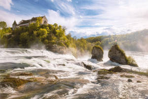 The Rhine Falls by LinsenSchuss