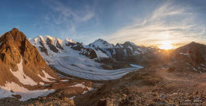 The Pers Glacier by LinsenSchuss