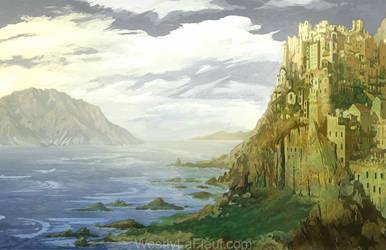 Castle Alexandria by WestlyLaFleur
