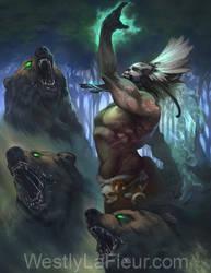 Zombie Bears by WestlyLaFleur