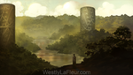 Ancient Ruins by WestlyLaFleur