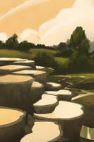 Effervescent Pools by WestlyLaFleur