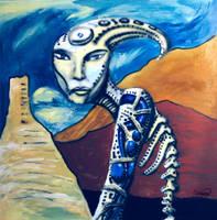 desert creature by Sapoman