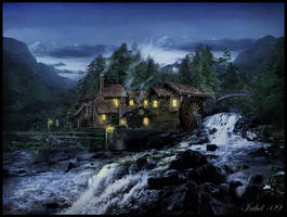 Olde Mill Inn by Iribel