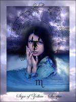 Sign of Zodiac - Scorpio by Iribel
