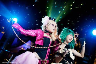 Macross F - Galaxy Concert by vaxzone