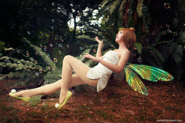 Tinker Bell - Float Like a Butterfly by vaxzone