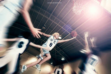 Unstoppable Kise by vaxzone