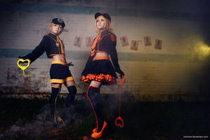Kagamine Twin - Find the LOVE Thief by vaxzone