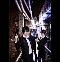 Psycho-Pass - The Town Where Sulfur Falls by vaxzone