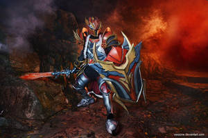 Dota 2 - Dragon Knight by vaxzone
