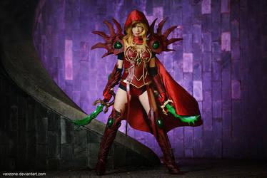 Warcraft - Valeera Sanguinar by vaxzone