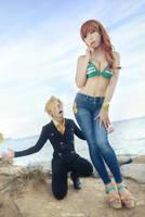 One Piece - Sanji x Nami by vaxzone