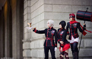 D.Gray-man by vaxzone